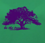 BE THE TREE t-shirt design idea