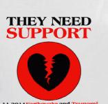 NEED SUPPORT t-shirt design idea