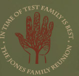 FAMILY REUNION4 JE t-shirt design idea