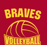 BRAVES VOLLYBALL t-shirt design idea