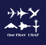 UNITED STATES AIR FORCE OUR FLEET t-shirt design idea
