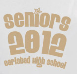 CARLSBAD HIGHSCHOOL SENIORS t-shirt design idea