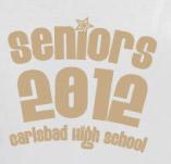 CARLSBAD HIGHSCHOOL SENIORS t-shirt design idea