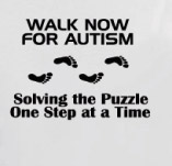 WALK NOW FOR AUTISM SOLVING THE PUZZLE t-shirt design idea