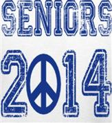 SENIOR 2014 DISTRESS t-shirt design idea