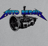 AUTO REPAIR ROCK AND ROLL t-shirt design idea
