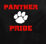 PANTHER PRIDE PAW t-shirt design idea