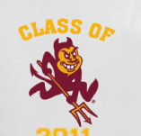 ASU SENIOR SPARKY t-shirt design idea