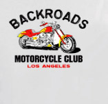 BACKROADS MOTORCYCLE CLUB t-shirt design idea