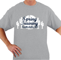 SPRING TRAINING TEE t-shirt design idea