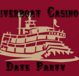 RIVERBOAT CASINO DATE PARTY t-shirt design idea