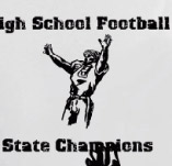 FOOTBALL STATE CHAMPIONS t-shirt design idea