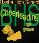 BASHA CHEERLEADING t-shirt design idea