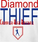 DIAMOND THIEF t-shirt design idea
