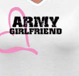 ARMY GIRLFRIEND t-shirt design idea