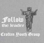 FOLLOW THE LEADER t-shirt design idea
