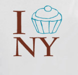 I CUPCAKE NEW YORK t-shirt design idea