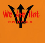 WE ARE HOT-GO DEVILS t-shirt design idea