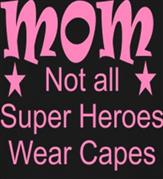 SUPER HERO MOM t-shirt design idea