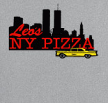 LEO'S NEW YORK PIZZA t-shirt design idea