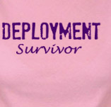 DEPLOYMENT SURVIVOR t-shirt design idea