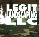 LEGIT LANDSCAPING t-shirt design idea