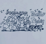 JOHNSON FAMILY PICNIC t-shirt design idea