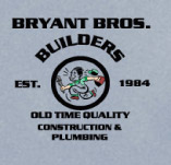 BRYANTS BROS BUILDERS t-shirt design idea