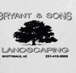 BRYANT AND SONS LANDSCPAING t-shirt design idea